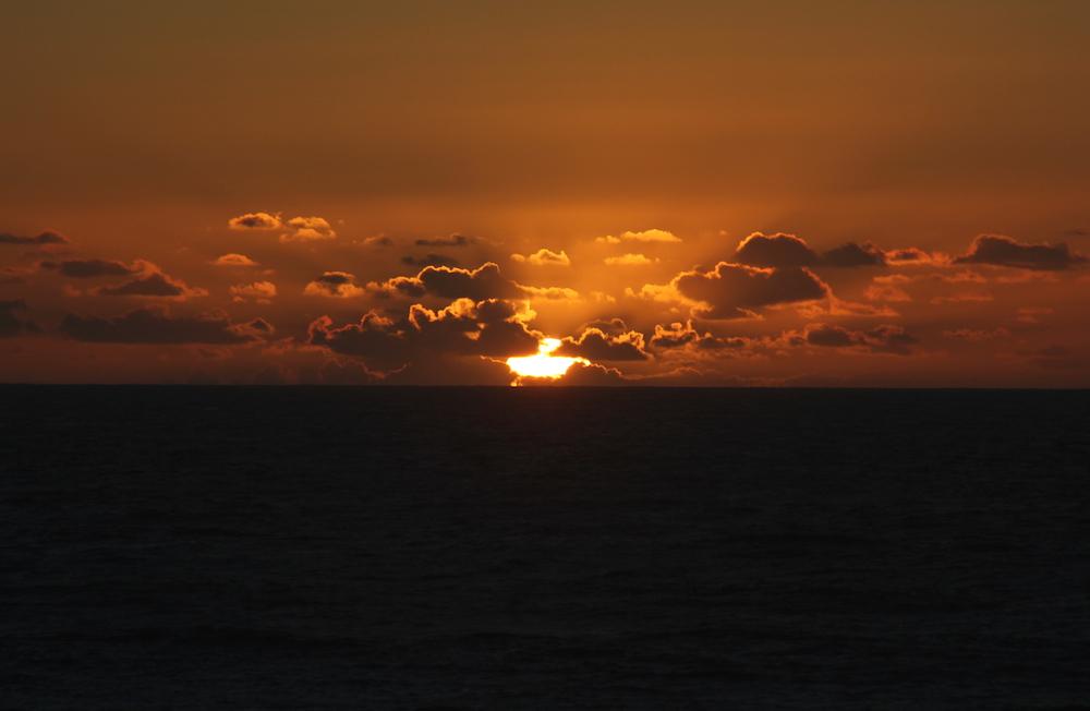 Sunset maroc surf imsouane