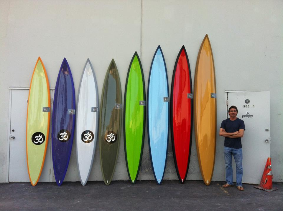 Greg long quiver gun surf